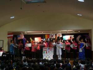 世界が一つになる祭典を楽しく音楽と共に紹介してくれました!